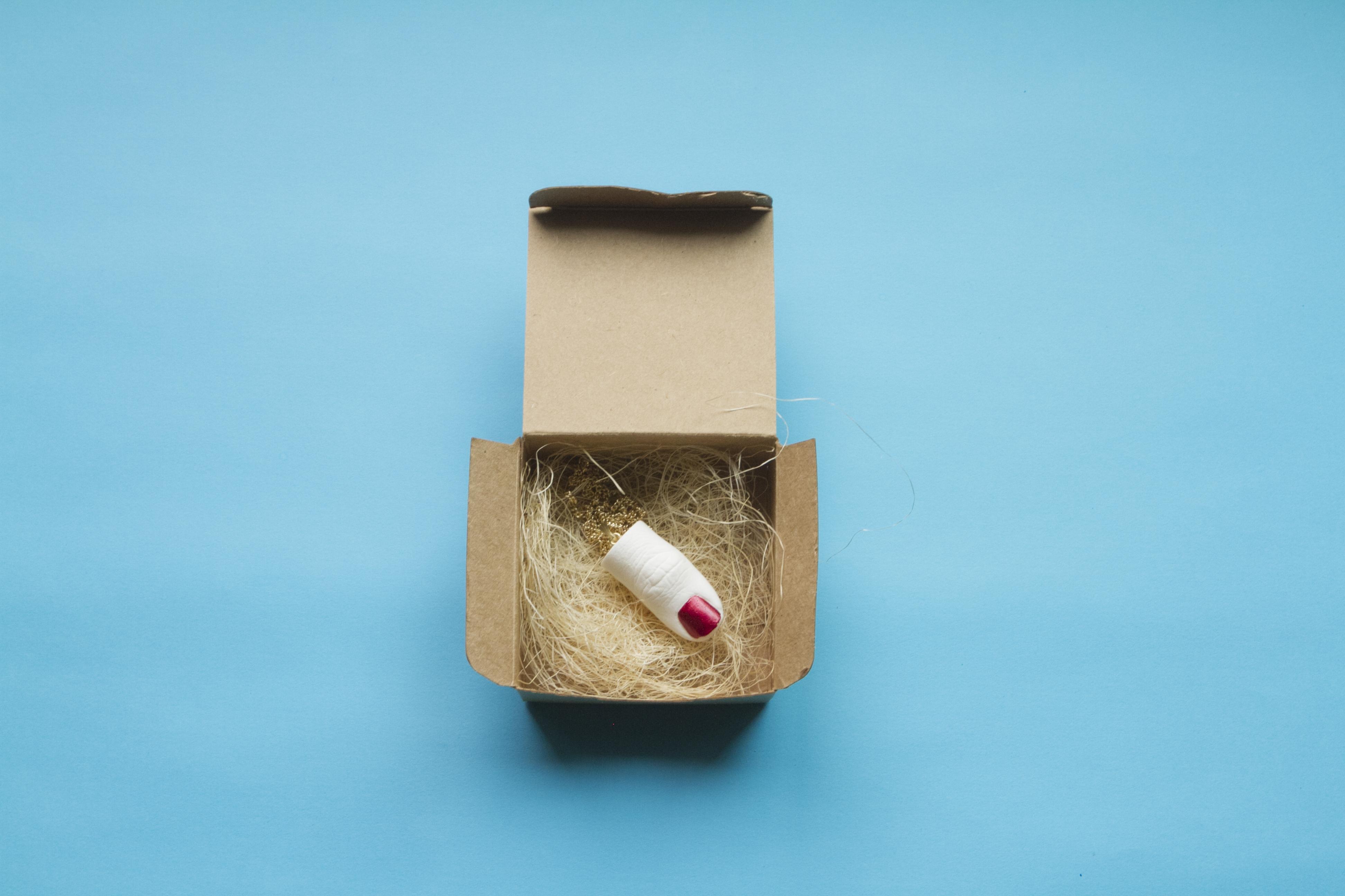 red-nailpolish-thumb-necklace-in-a-box